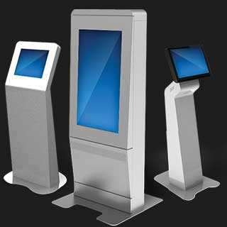 Picture Showing models of Self Service Machine